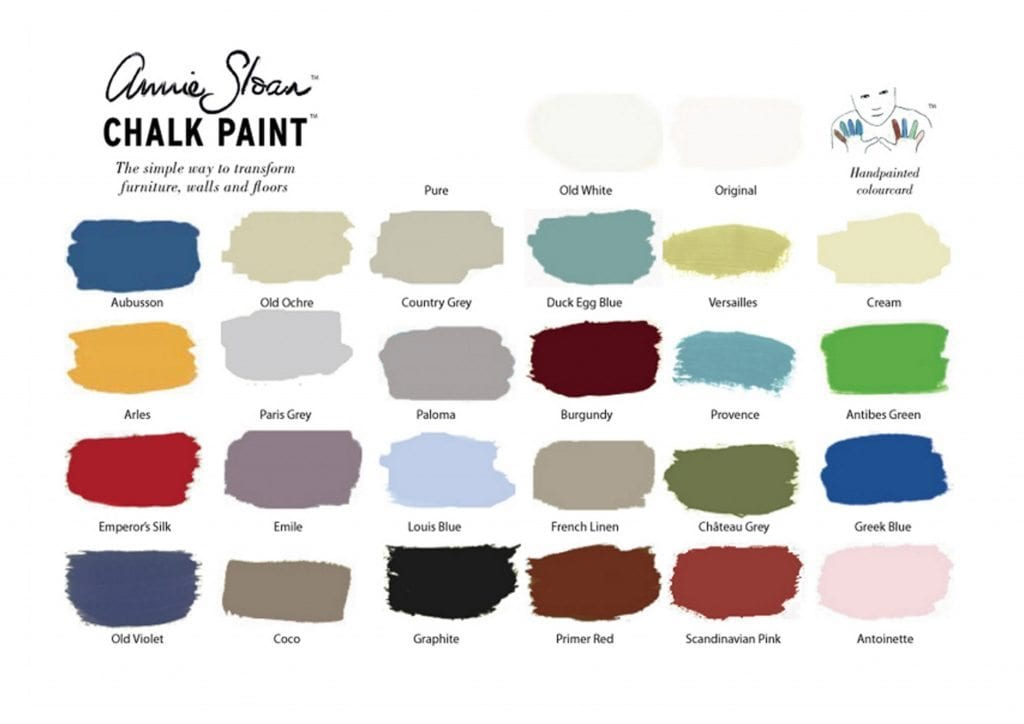 Color Chart The Back Door Furnishings Pittsburgh S Annie Sloan